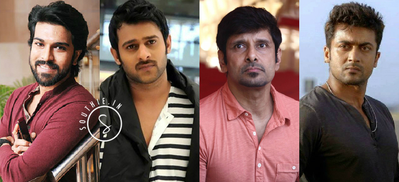 Ram Charan, Prabhas, Suriya and Vikram for this movie? Ram Charan, Prabhas, Rana, Virkam, Karthi, Suriya for Brothers remake.
