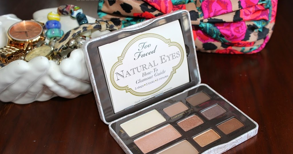 Two Faced Natural Eye Palette Looks