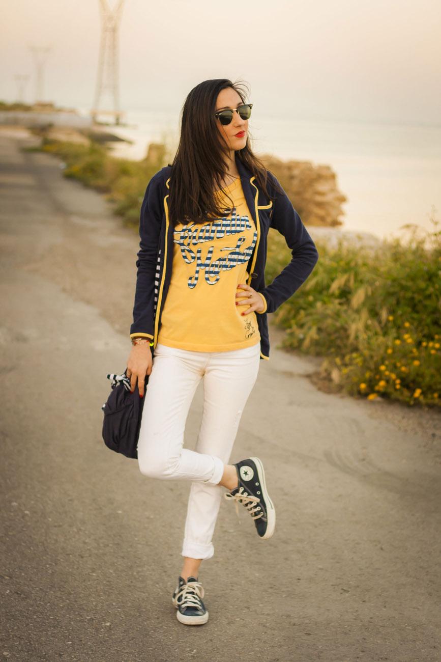 Street Style white Pants