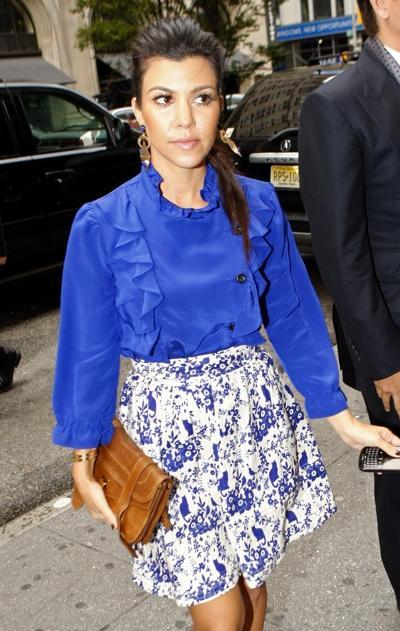 Color nail polish wear royal blue dress