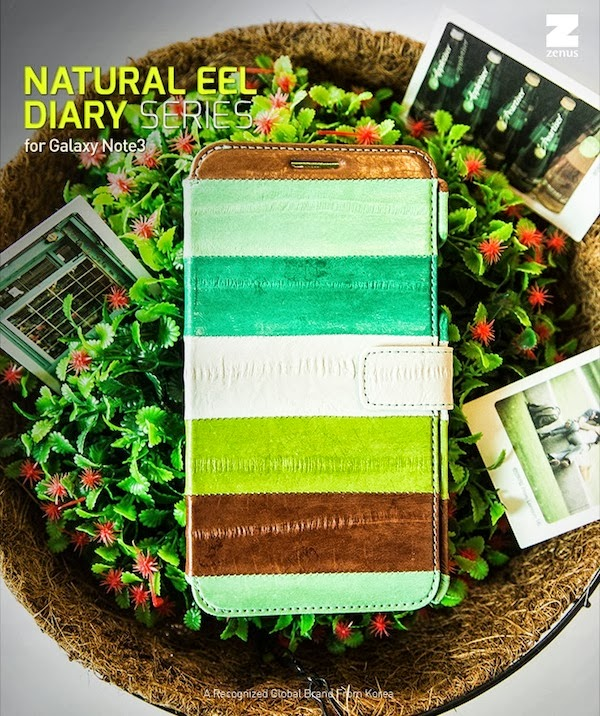 Natural Eel Diary Case