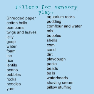 Fillers For Sensory Play