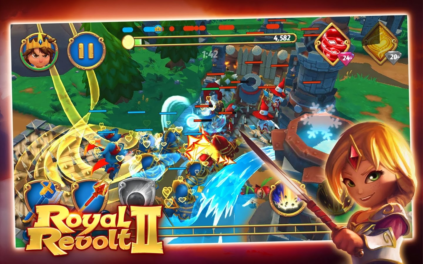 Royal Revolt 2 apk game