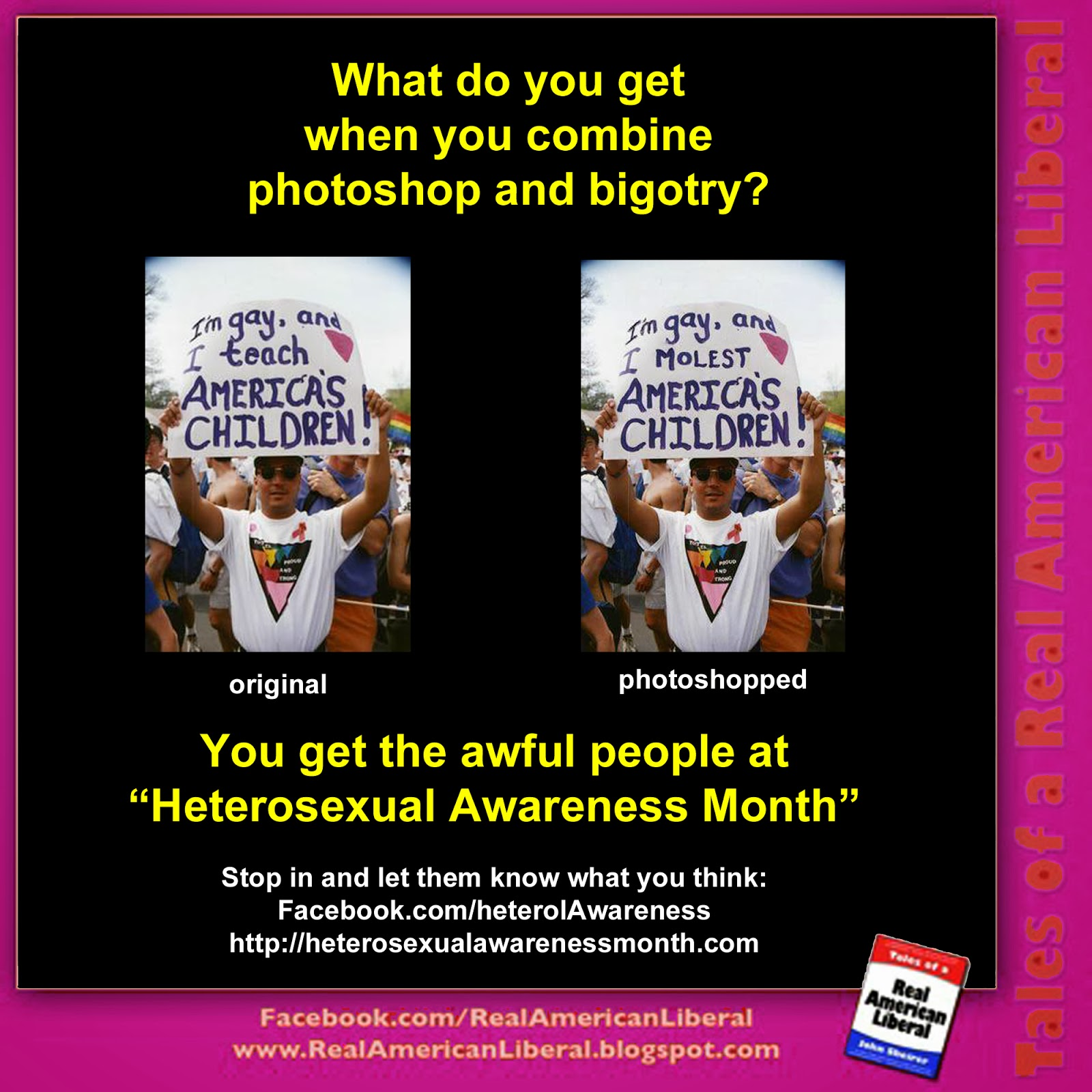 Hetreosexual awareness month
