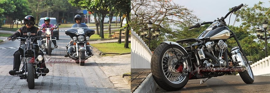 Ride Hasil Modifikasi Harley Davidson
