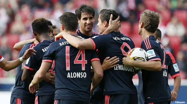 Hasil Lengkap Bundesliga Pekan-7, Bayern Munich Masih Tetap tangguh!