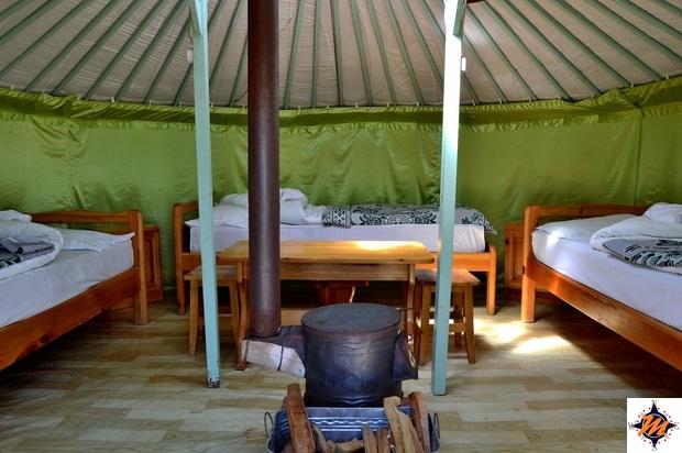 Ekh Baigal Ger Camp, nei pressi della Taikhar Rock