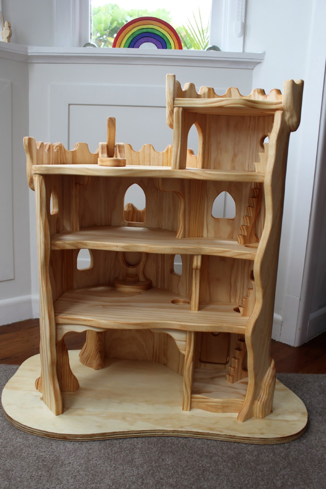 The Elves And The Wood Botherer Elf Castle Spots