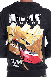 cars land radiator springs racer hoodie sweatshirt