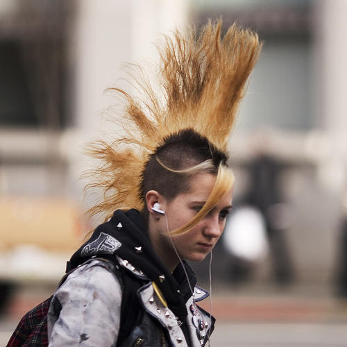 Punk Rock Hairstyles ~ New Hairstyles