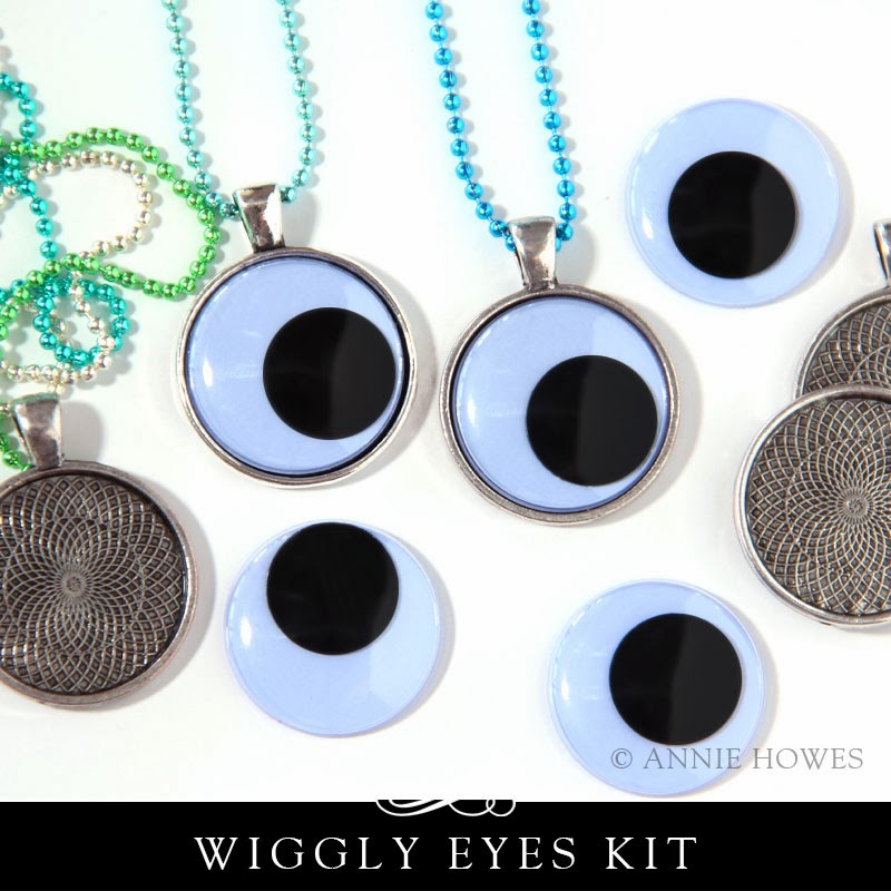 Make 5 Wiggly Eyes Necklaces Party Favors