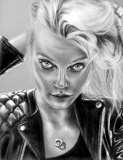 Sandra Jawad black and white  illustrations and graphics