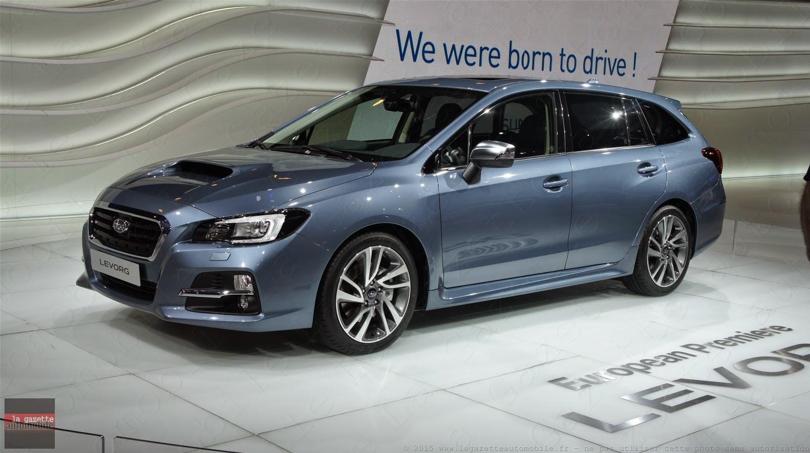 Genève 2015 Subaru Levorg