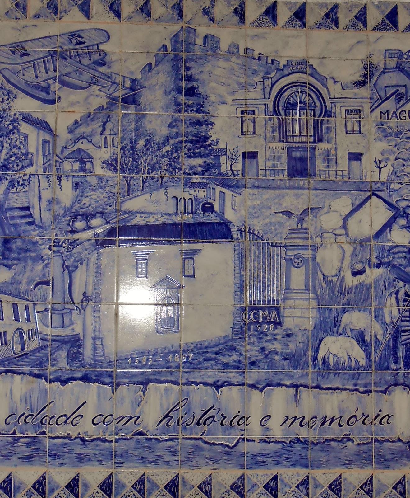 Viajar e descobrir portugal alverca do ribatejo for Azulejos historia