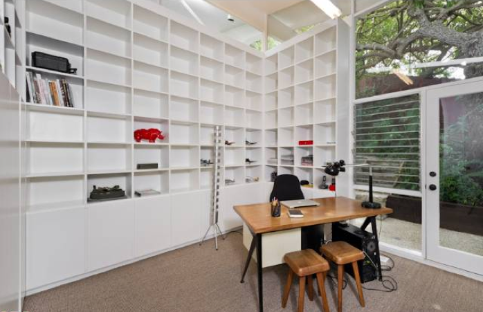 The Master Bedroom Has Wonderful Light And Built In Bookcases With Lots Of Storage E