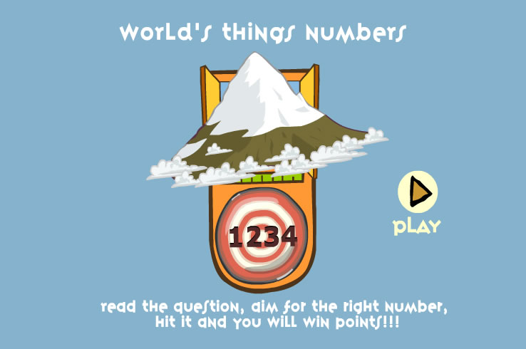 Kids Game : World's Things Numbers