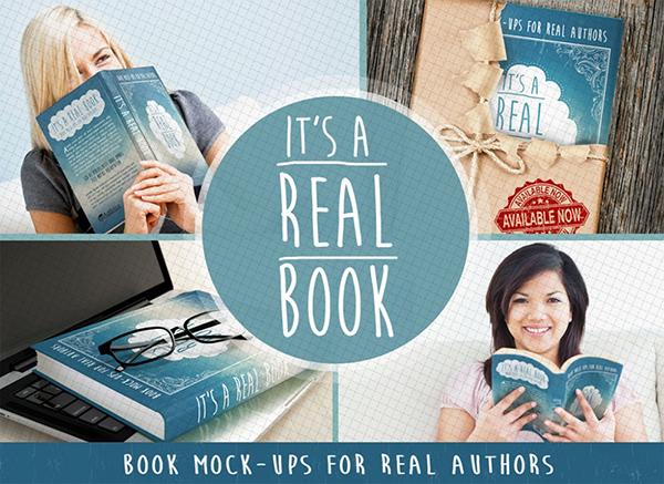 Download Gratis Mockup Majalah, Brosur, Buku, Cover - Free Photoshop Book Mock-Ups