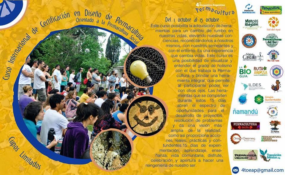 Curso Internacional de Certificacion en Diseño de Permacultura