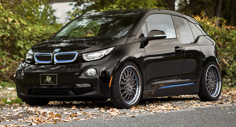 bmw 39 s baby i3 ev puts on a new set of alloy shoes. Black Bedroom Furniture Sets. Home Design Ideas