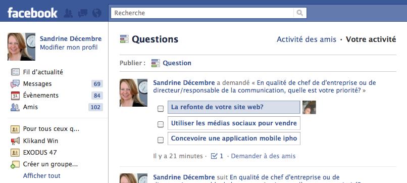 communication facebook entreprise