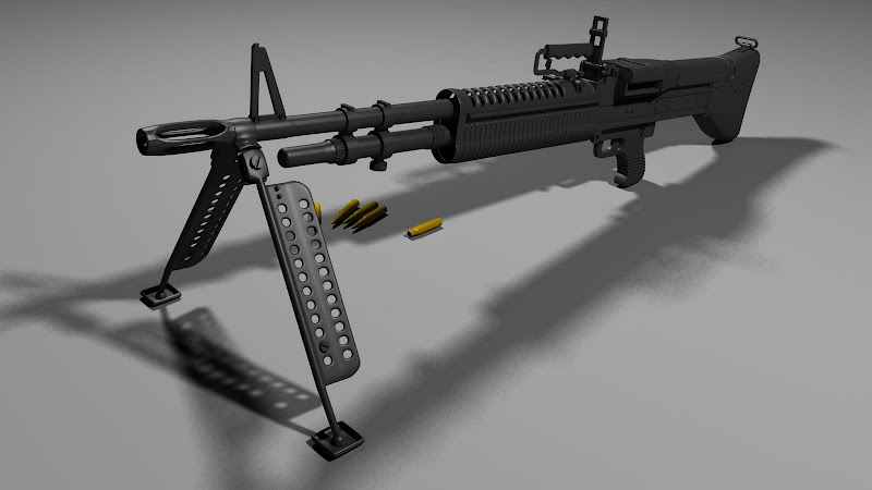 M60 7.62 mm Automatic Machine Gun