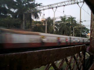 Running train Near Sion