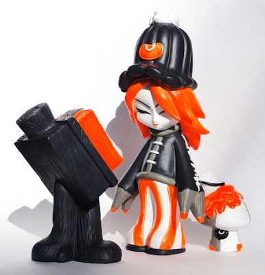 ESC Toy - Suketchi Mama Noir Resin Set by Erick Scarecrow