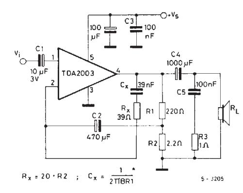 amplifiercircuits com  tda2003