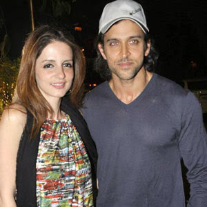 Hrithik Roshan thrashes divorce rumours
