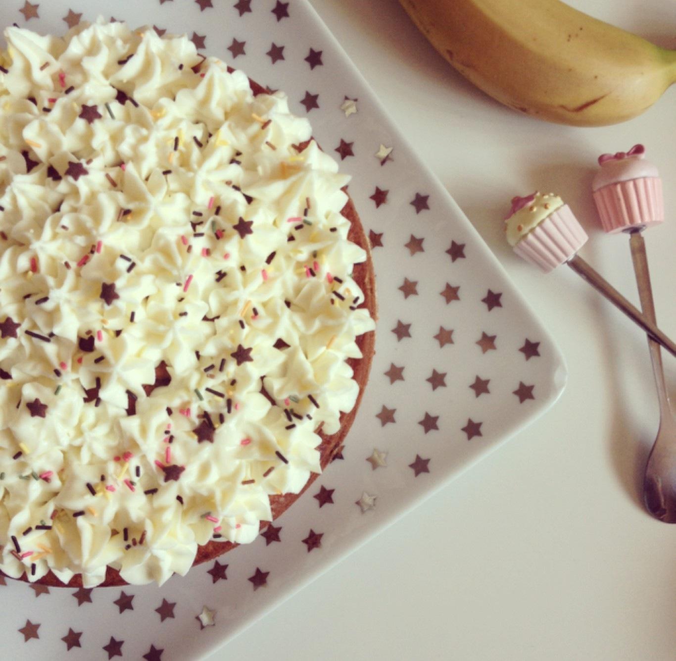 dessert assiette banane