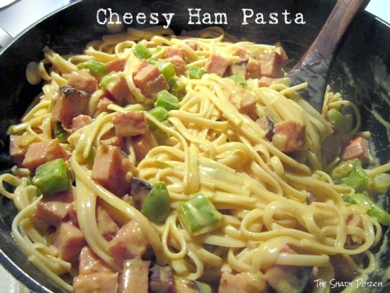 Cheesy Ham Pasta