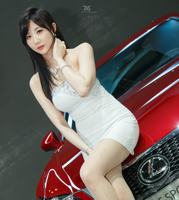 1 Yeon Da Bin - Seoul Motor Show 2015 - very cute asian girl-girlcute4u.blogspot.com