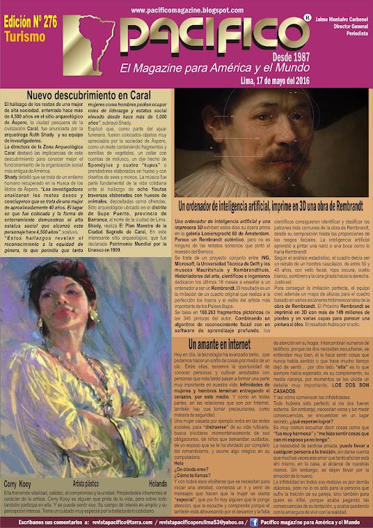 Revista Pacífico Nº 276  Turismo