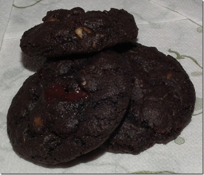 Chocolate Zuchinni Cookies
