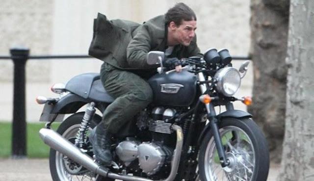 Cerita Tom Cruise Belajar Pertama Naik Motor