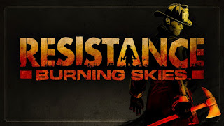 resistance burning skies wallpaper