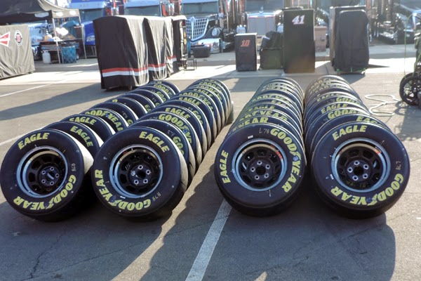 Check Out These Goodyears, The Official Tire Of NASCAR
