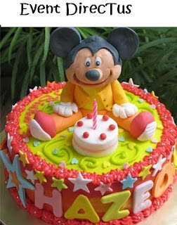 Cheap Mickey Mouse Birthday Cake