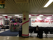 . LaGuardia Airport but when I got into the terminal, this is what I saw. (aa lga)