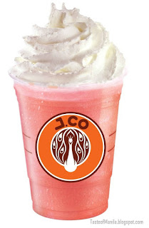Strawberry Yogurt Frappe