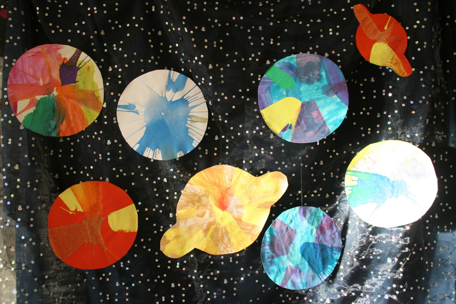solar system paintings - photo #35