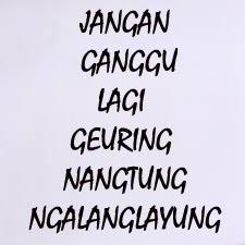 Galeri Gambar DP BBM Kata-Kata bahasa Sunda Lucu
