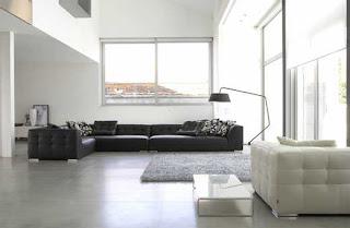 Ruang keluarga minimalis 5