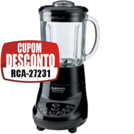 Cupom Efácil - Liquidificador Cuisinart SPB7BK