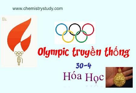 Đề kiểm tra đội tuyển dự thi olympic hóa học 30-4