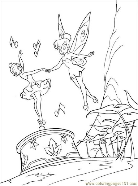 Vidia Disney Fairies Coloring Pages
