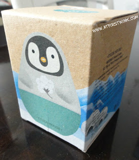 Etude House Missing U penguin hand cream with cotton scent