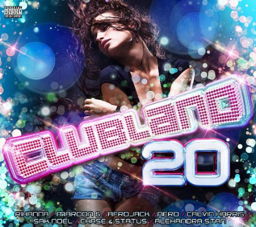Albumcover various artists - clubland 90s (explicit)