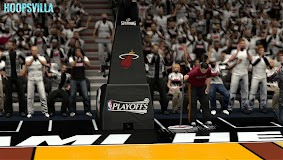 NBA 2k14 Stadium Mod : Playoff Edition - Miami Heat - American Airlines Arena