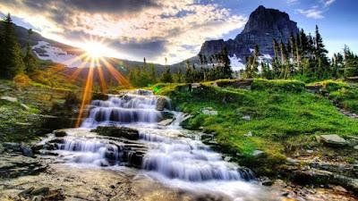 Gambar Pemandangan Alam Air Terjun Tercantik Di Dunia 2200